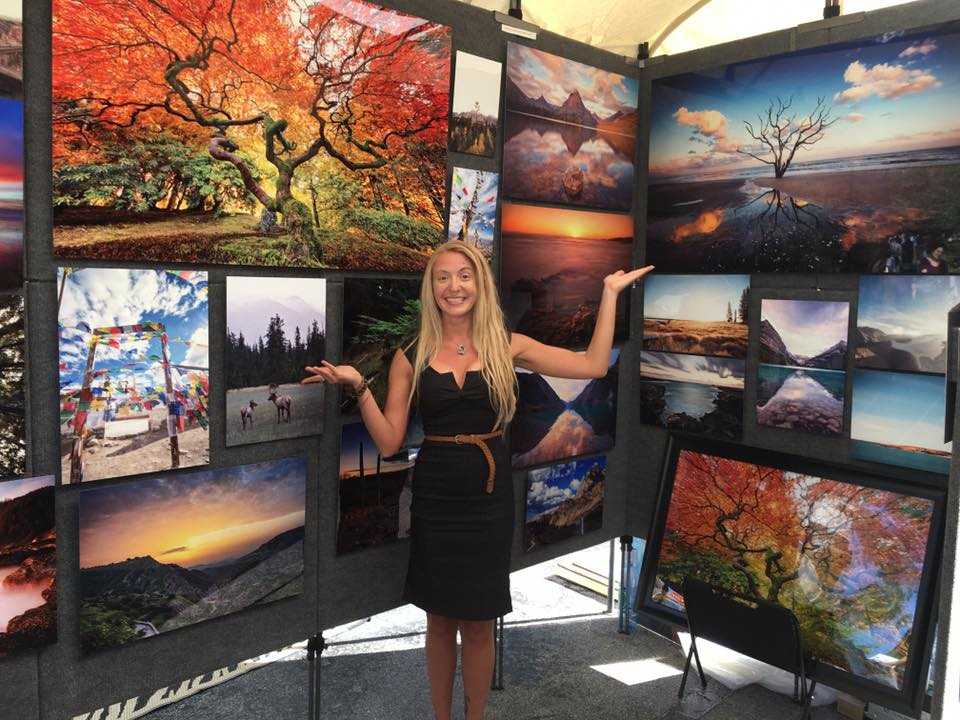Sharing my Metal Photography Prints at the Coral Springs Fine Art Fair