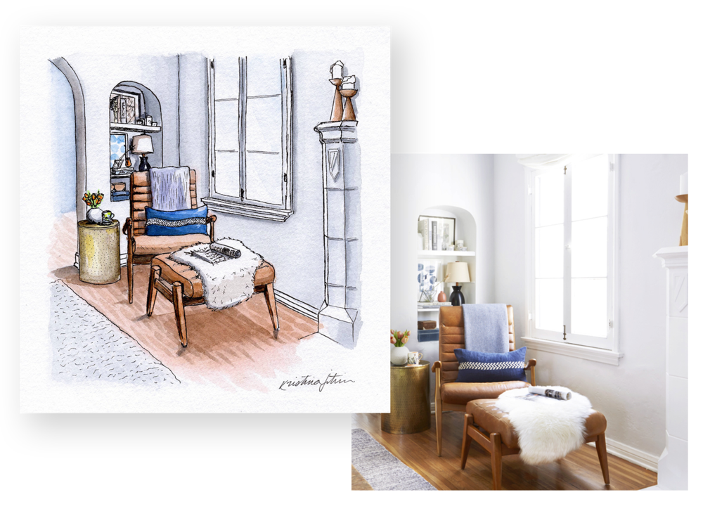 Commissioned Interiors - Featured work from some of my favorite clients.