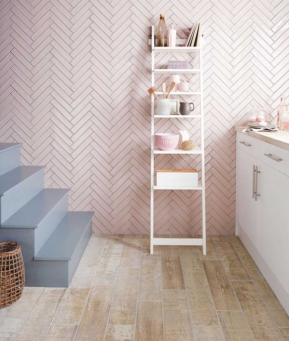 Try parquet on a statement wall for a ultra sleek modern look!