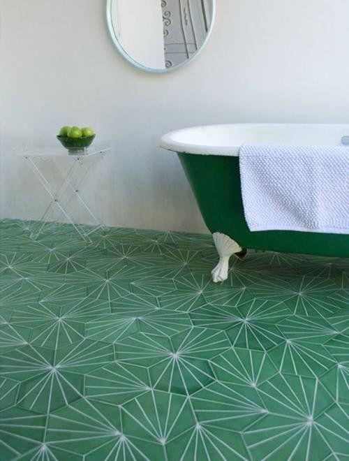 Statement Bathroom Floors Xi Projects