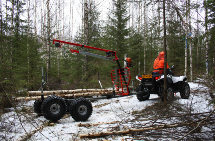Ultratec Timber Trailer