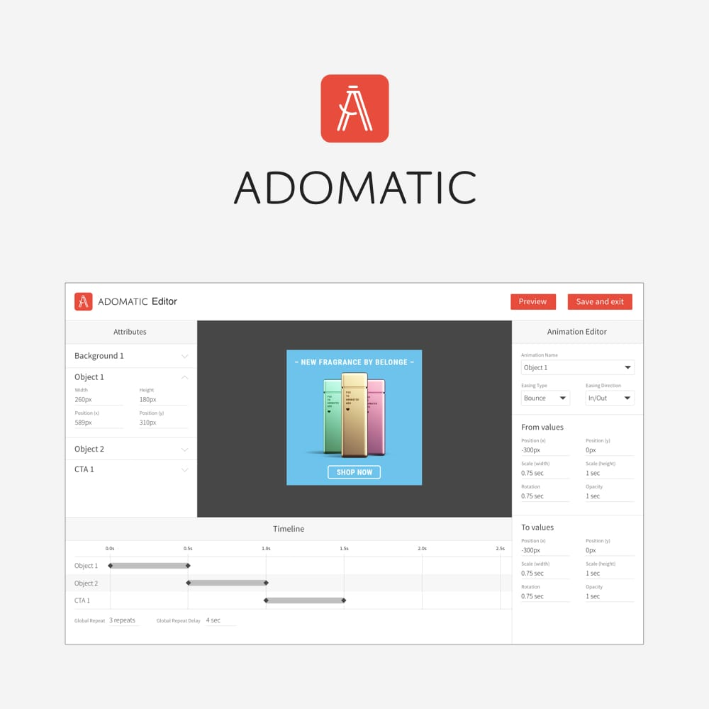 Adomatic.io Editor