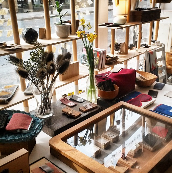 Wonderful to have the Antiform folks in store for our LFW Showroom and they left us with this lovely photograph of the shop. Can't wait to see you guys again.