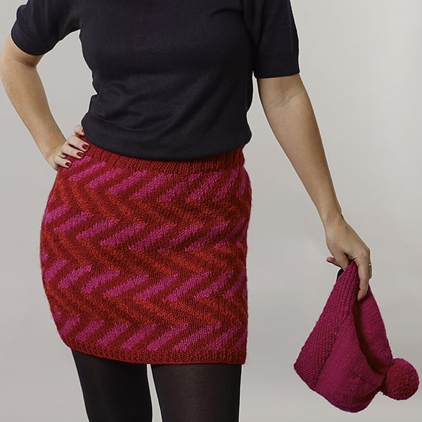 Zig a zig ah!  #miniskirt #woolies #knitwear #keepwarm #fairtrade #fashion #sustainablefashion #ethicallymade #nepal