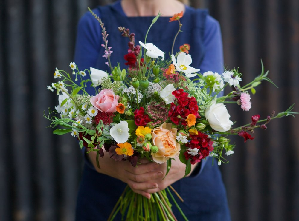 summer bouquet by JW Blooms
