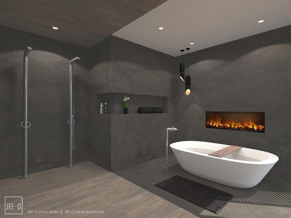 Badkamer Interieur Design : Jee o pure badkamer u elize wikkerink interior design studio