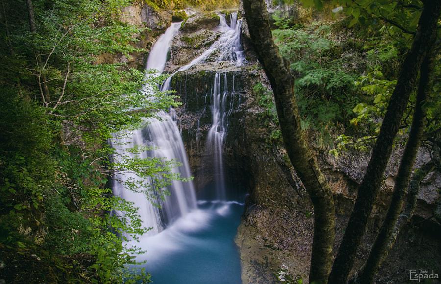 Cascada de la Cueva. (PN de Ordesa y Monte Perdido).