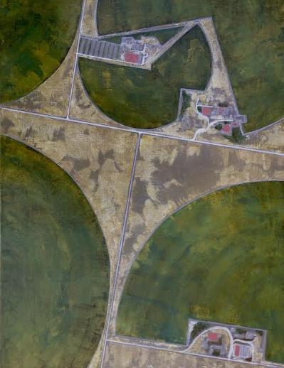 Central Pivot Irrigation, III, Nebraska, 2017