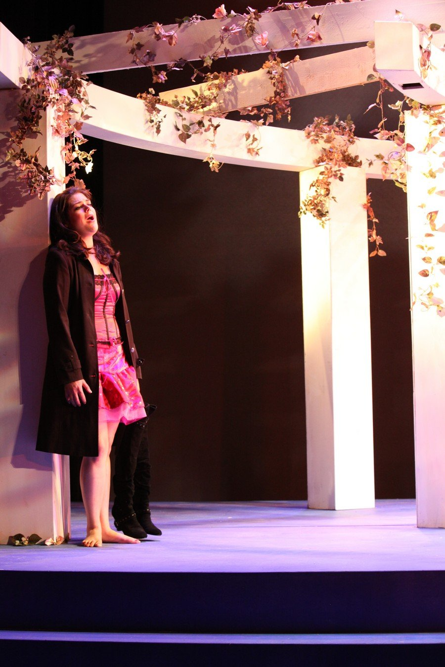 Connecticut Early Music Festival Stage Director: Eve Summer Conductor: Ian Watson Scenic Design: Julia Noulin-Merat Costume Design: Kathleen Doyle Lighting Design: Michael Clark Wonson