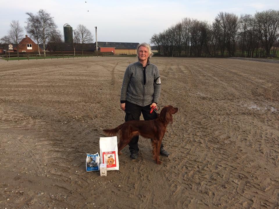 Christina Bak har ført endnu en hund til udstillings-Champion - tillykke til ejer: Søren Sus Andersen