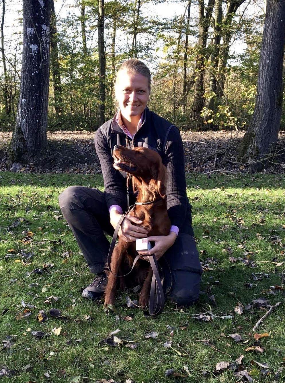 Hermed blev Siff Dansk Jagt Champion - Stort tillykke fra DISK