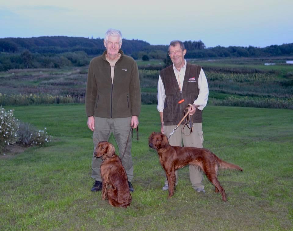 To herrer i deres bedste alder med to flotte præstationer