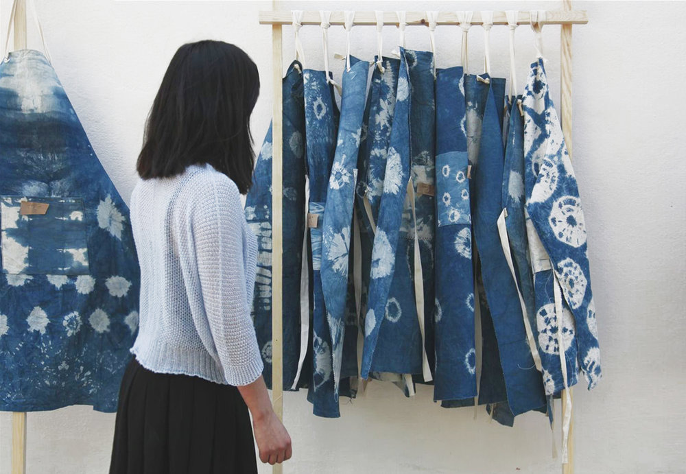 Indigo Aprons -   British Council UK / Morocco