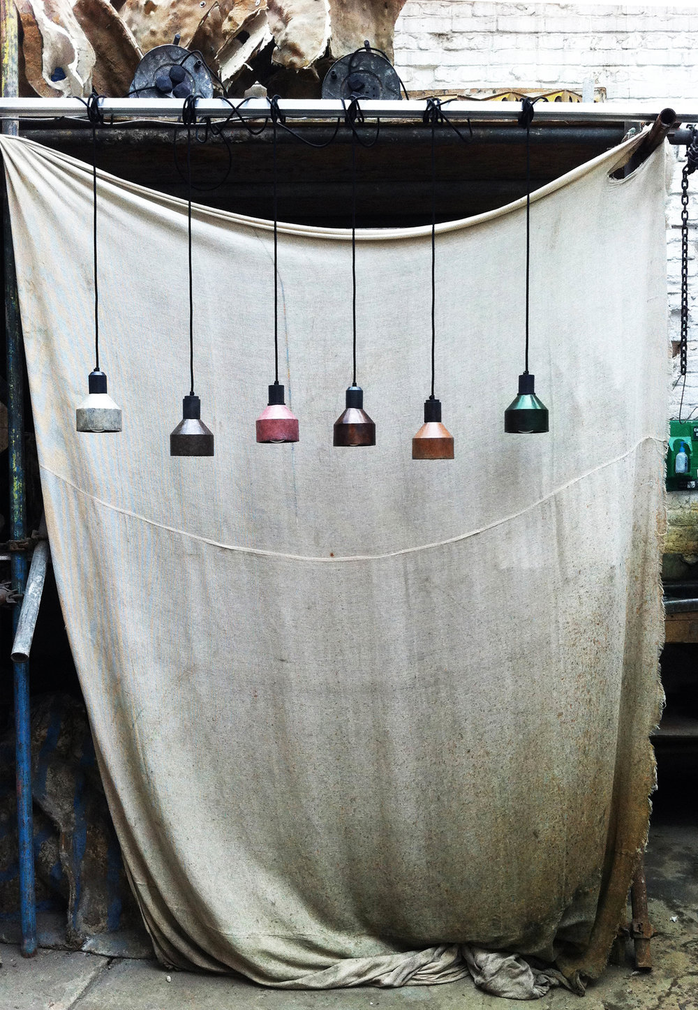 Patina Lights -  Wallpaper* Handmade