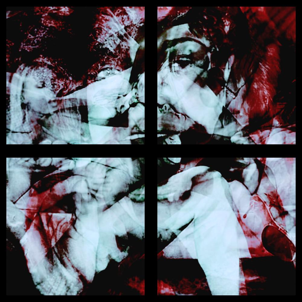 Overdose 02.1-4 (Tetraptych), 2008