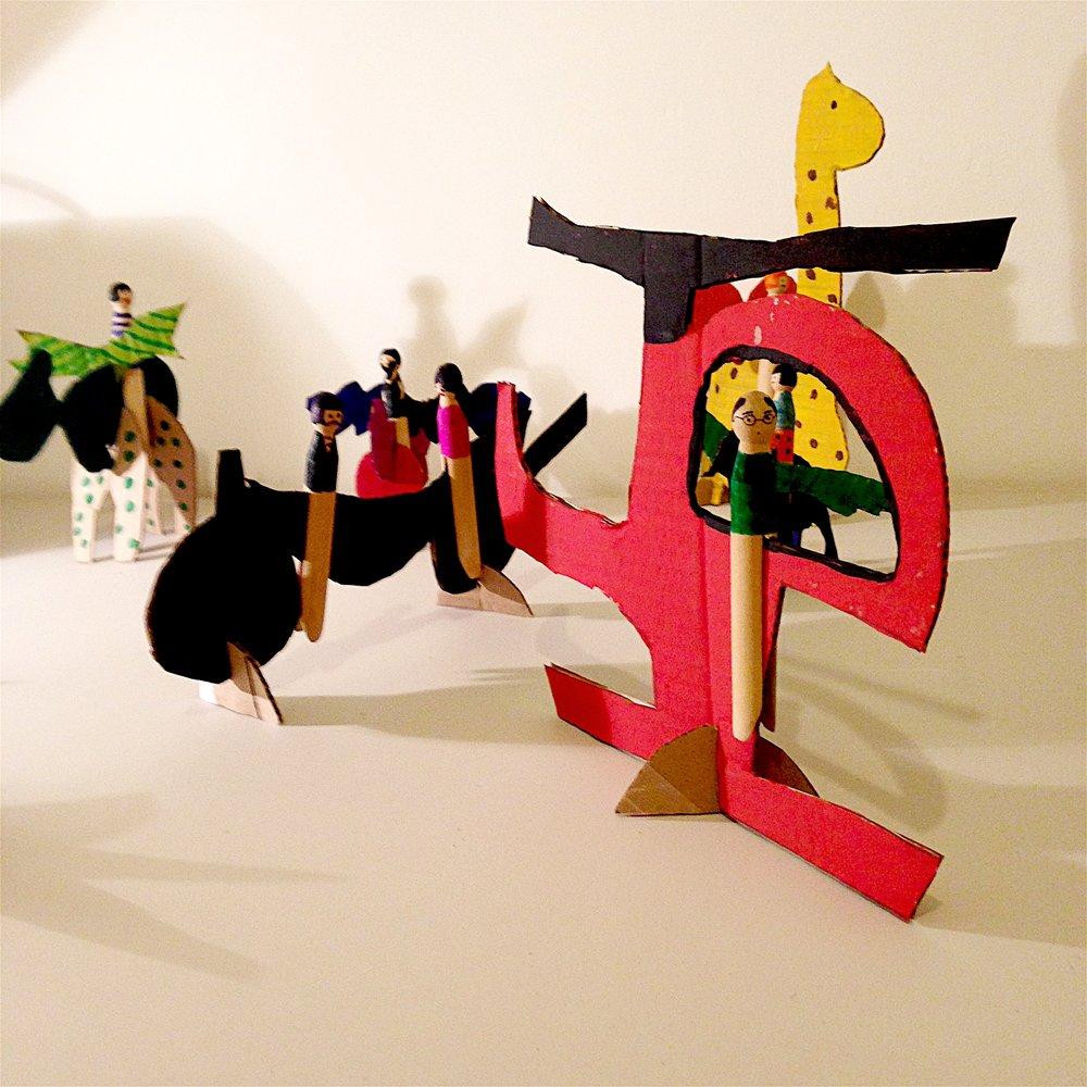 The Affordable Art Fair Workshop at Battersea, October 2014