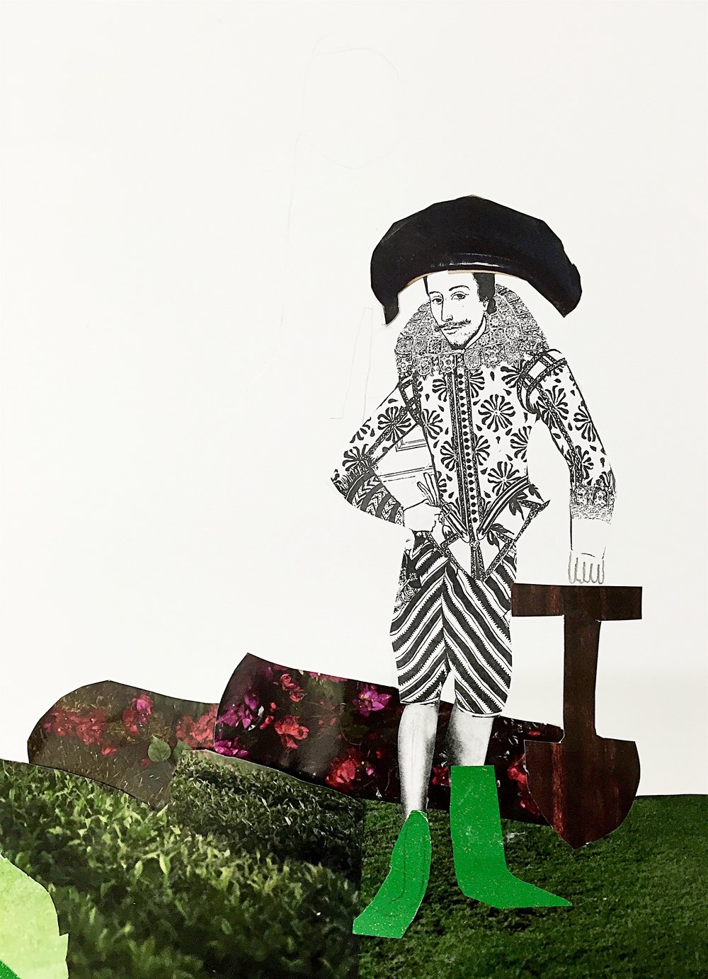 Character Design, inspired by Jacobean portraits