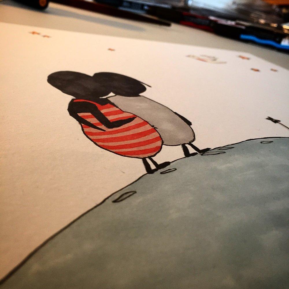 The Boogaloo's adventure, Moonwalk