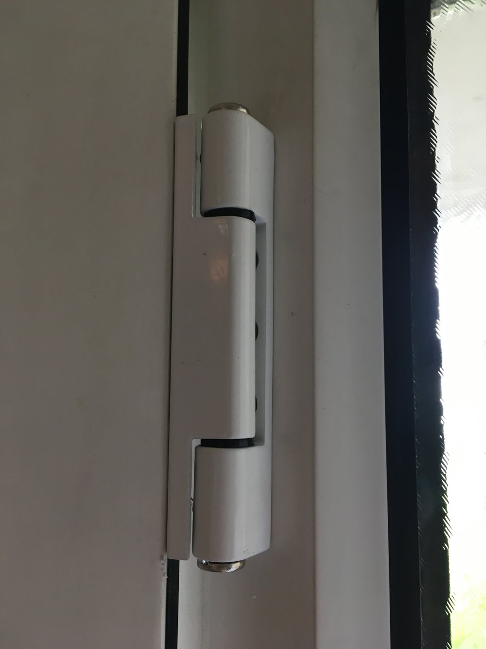 New hinges can increase the life of a door at a fraction of the cost.