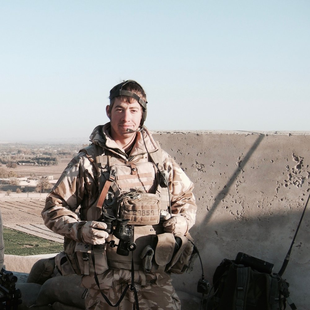 Gareth Tennant on Operations in Afghanistan in 2009