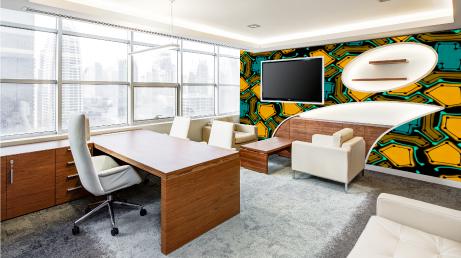 DÉCORATION INTÉRIEURE Aménagez et décorez boutiques et espaces de travail avec des produits et outils adaptables et personnalisés.