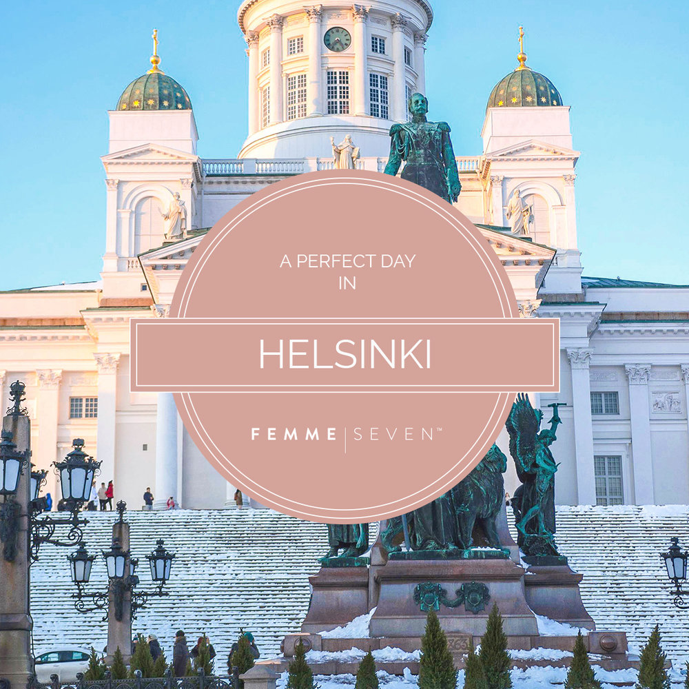 A Perfect Day in Helsinki mit FEMME SEVEN