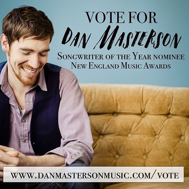 I'm honored to be nominated for #Songwriter of the Year by the @nemusicawards alongside friends and mentors. Please vote! #nema2018