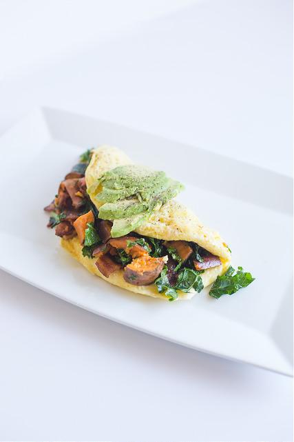 Benton's Bacon Omelette