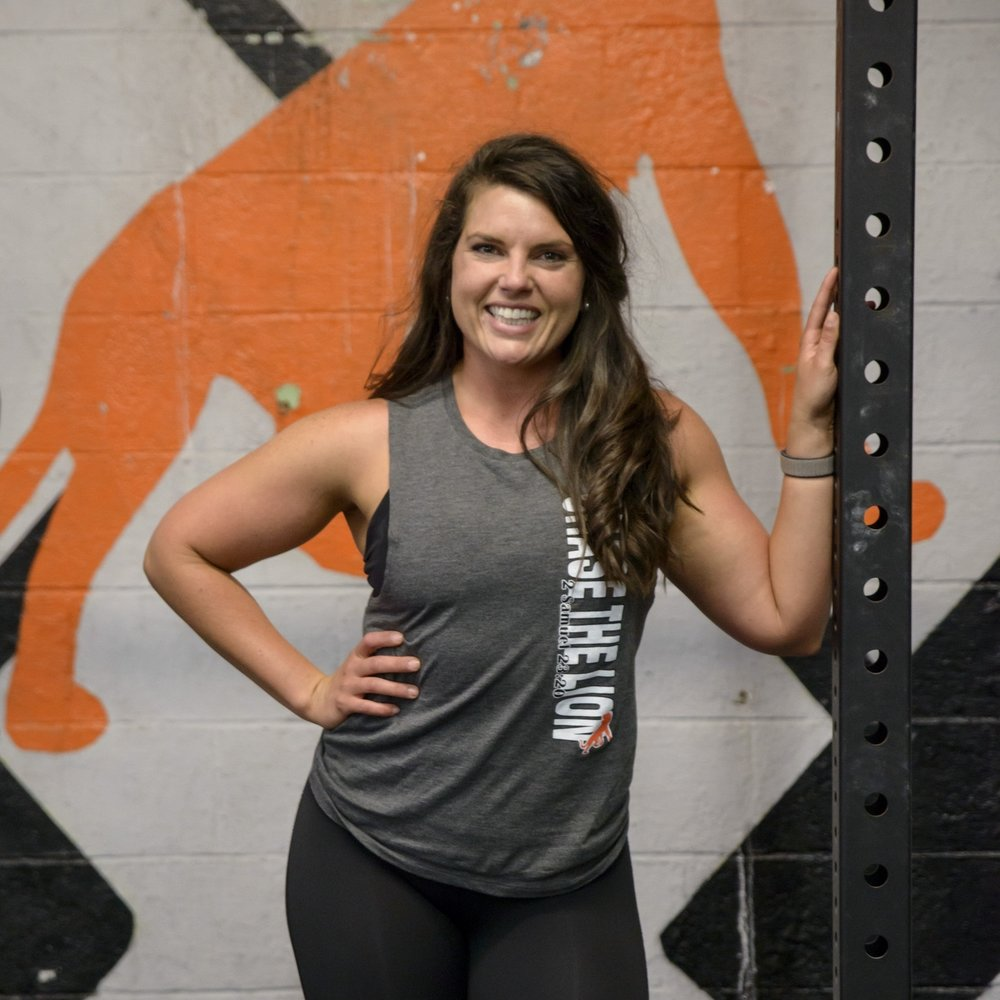 Caitlin Hall  Caitlin's favorite coaching moment has to be seeing athletes complete movements and goals they never would've thought they were capable of accomplishing. Given the choice she's a big fan of snatching and exploring local coffee shops with her husband Zach. Buy her a Pumpkin Spice Latte and she's love you a latte.  Coaching Certifications: CrossFit Level 1, USA Weightlifting Level 1, Eat to Perform Level 1