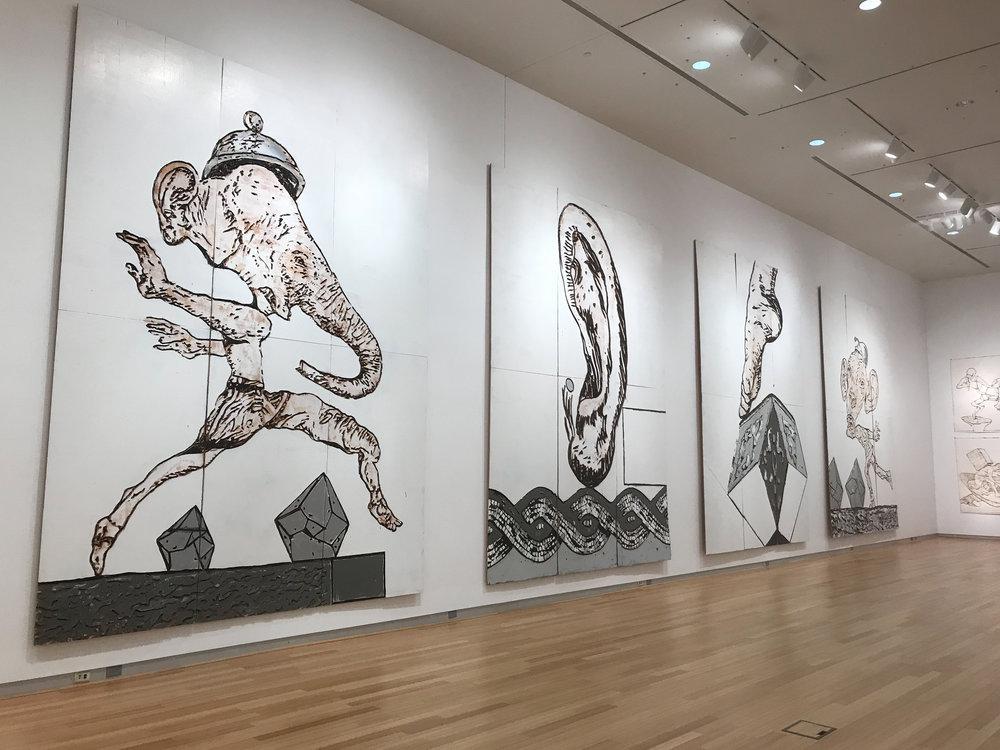 Saturn Paintings