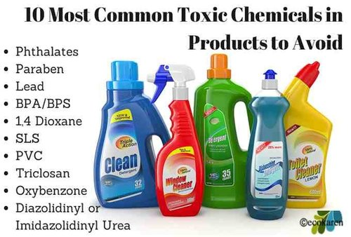 list of chemicals in cleaning products