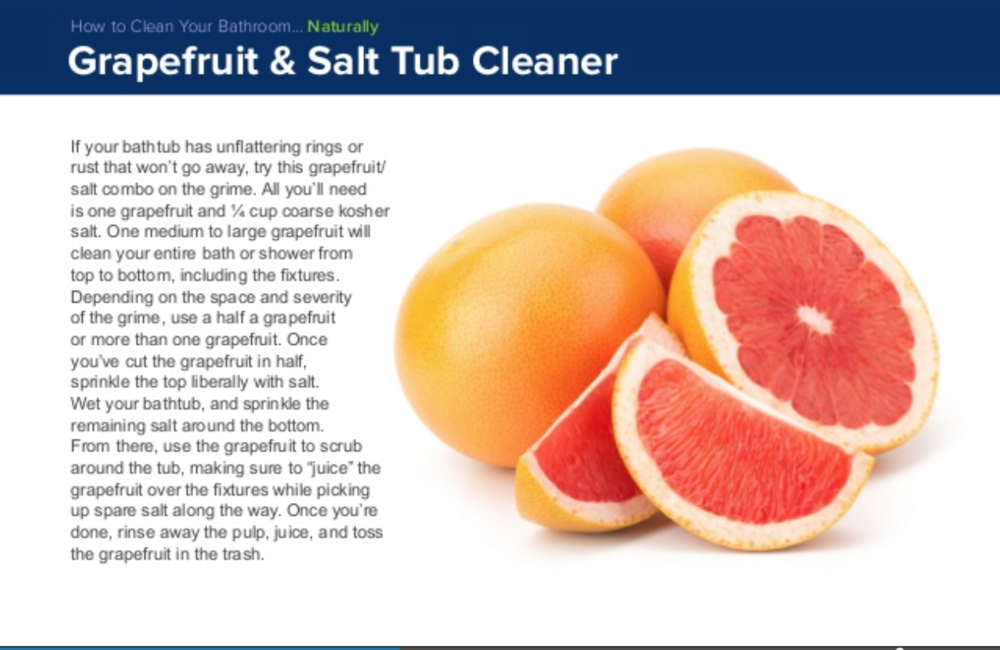 Keep and your family safe from harmful toxins by using this simple bathroom cleaner.