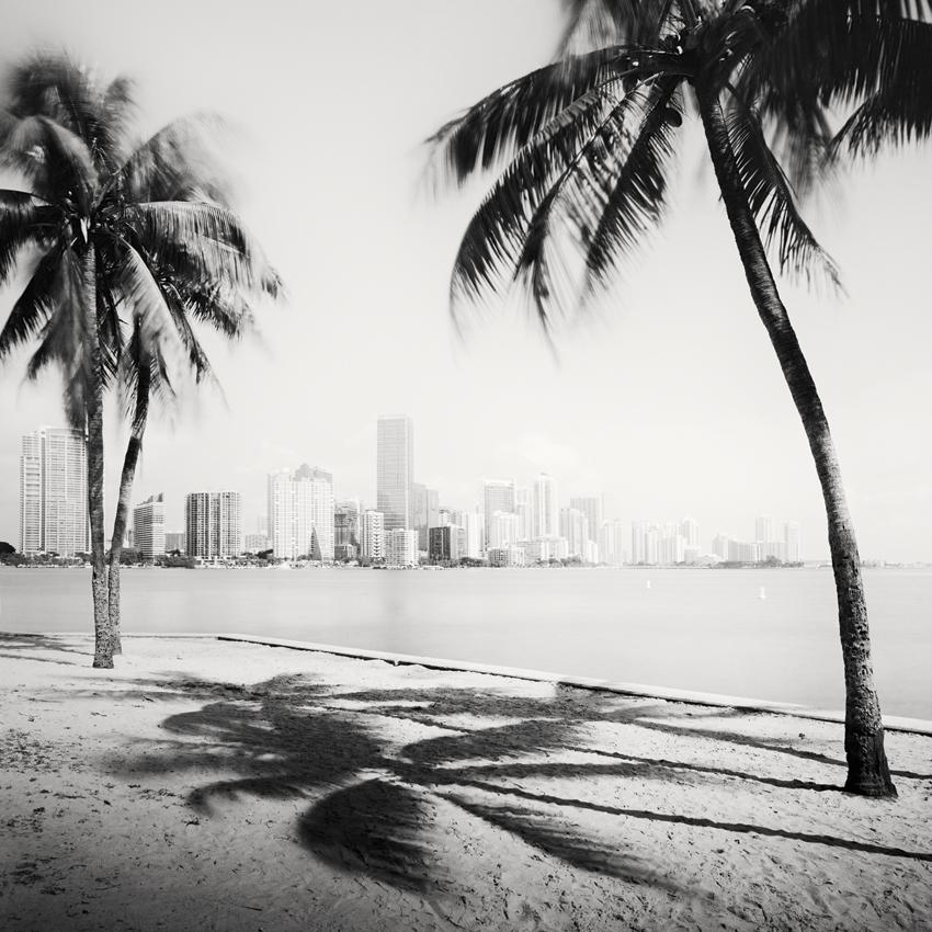 Miami Beach Skyline Study #1, Florida, USA 2016 - Limited Edition Gelatin Silver Print No.: 11860
