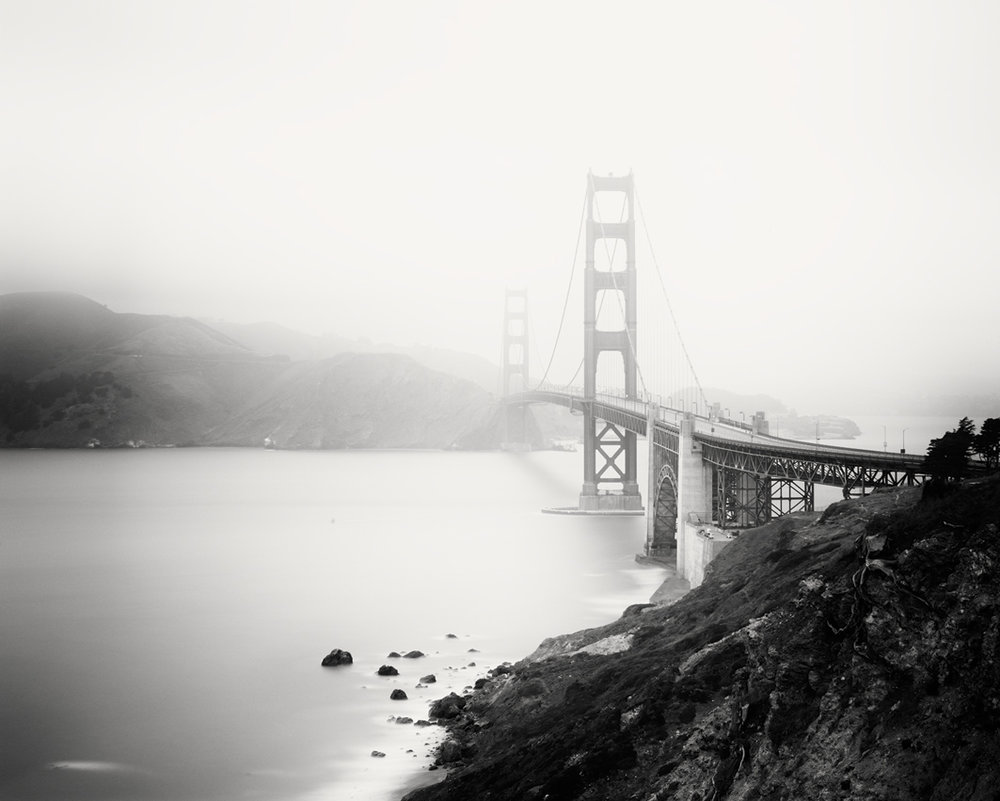 Golden Gate Study #10, CA, USA 2015 - Limited Edition Gelatin Silver Print No.: 11879