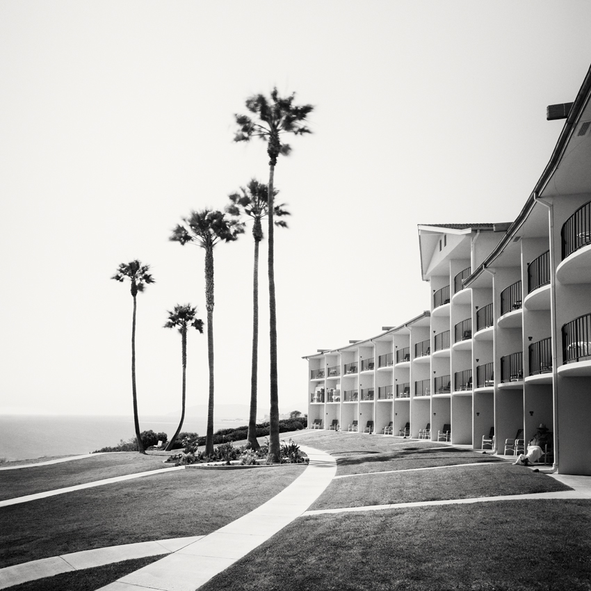 Palms Motel, CA, USA 2015 - Limited Edition Gelatin Silver Print No.: 11621