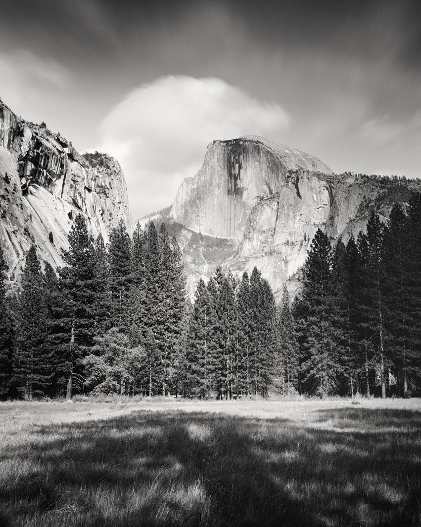 Half Dome Study #1, Yosemite National Park, CA, USA 2015 - Limited Edition Gelatin Silver Print No.: 11650