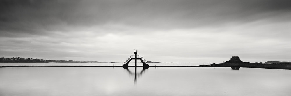 Diving Platform Panorama, France 2013 - Limited Edition Gelatin Silver Print No.: 11493
