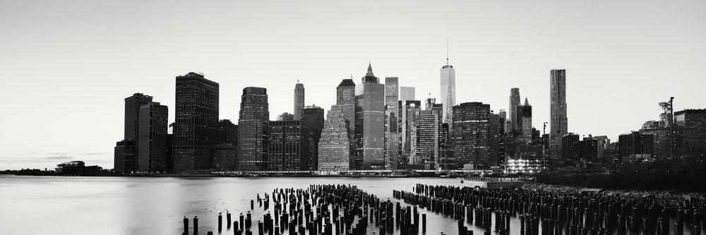 Manhattan Panorama Skyline #2, New York City, USA 2016 - Limited Edition Gelatin Silver Print No.: 11887