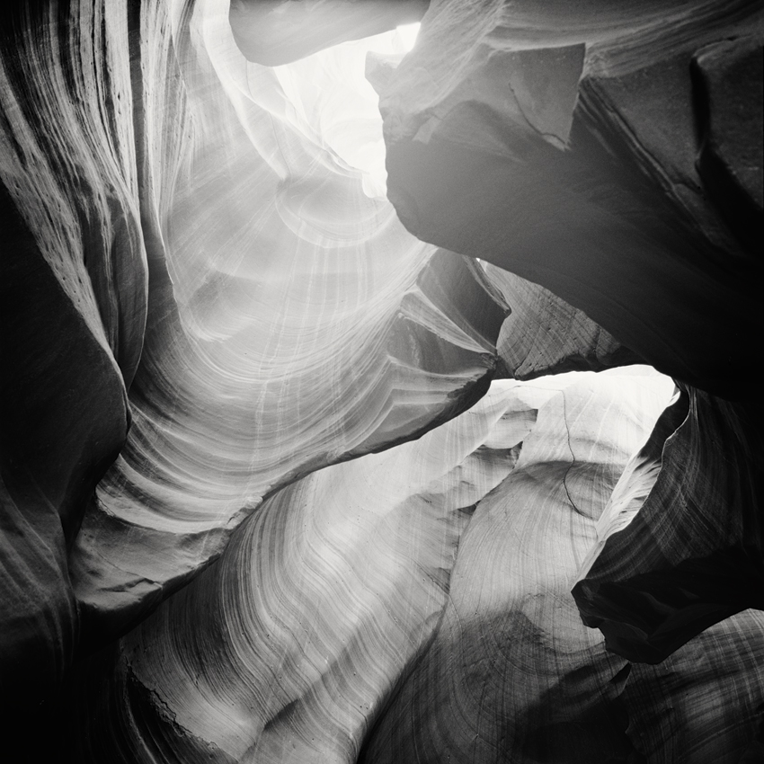 Antelope Canyon Study #2, AZ, USA 2015 - Limited Edition Gelatin Silver Print No.: 11871