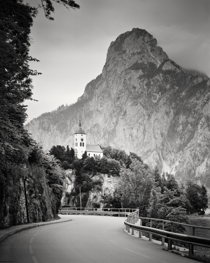 "Johannesbergkapelle Study #2, Traunkirchen, Austria 2012 - Limited Edition Gelatin Silver Print No.: 11268  40 x 50cm (15.8 x 19.7"") ,  Edition of 8 60 x 75cm (23.6 x 29.5"") ,  Edition of 7 80 x 100cm (31.5 x 39.4"") ,  Edition of 5 100 x 125cm (39.4 x 49.2"") ,  Edition of 5 120 x 150cm (47.2 x 59.1"") ,  Edition of 5"