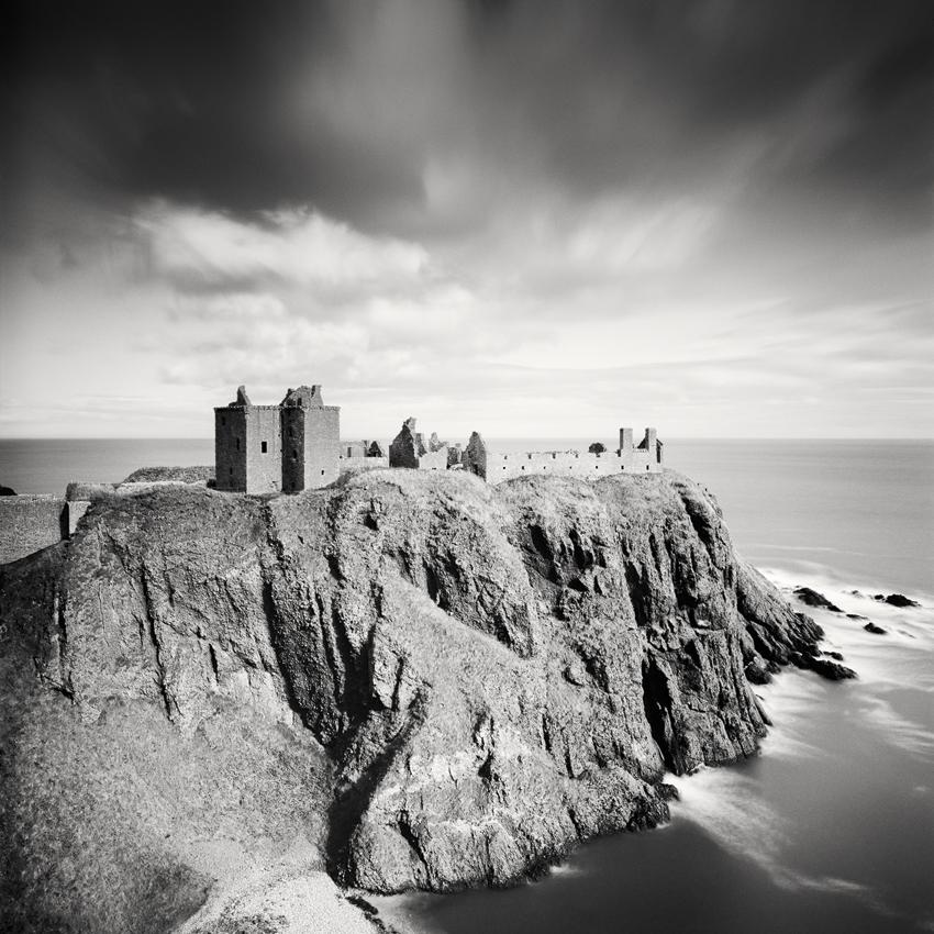 "Dunnottar Castle, Scotland 2012 - Limited Edition Gelatin Silver Print No.: 11294  40 x 40cm (15.8 x 15.8"") ,  Edition of 9 60 x 60cm (23.6 x 23.6"") ,  Edition of 9 80 x 80cm (31.5 x 31.5"") ,  Edition of 7 100 x 100cm (39.4 x 39.4"") ,  Edition of 5"