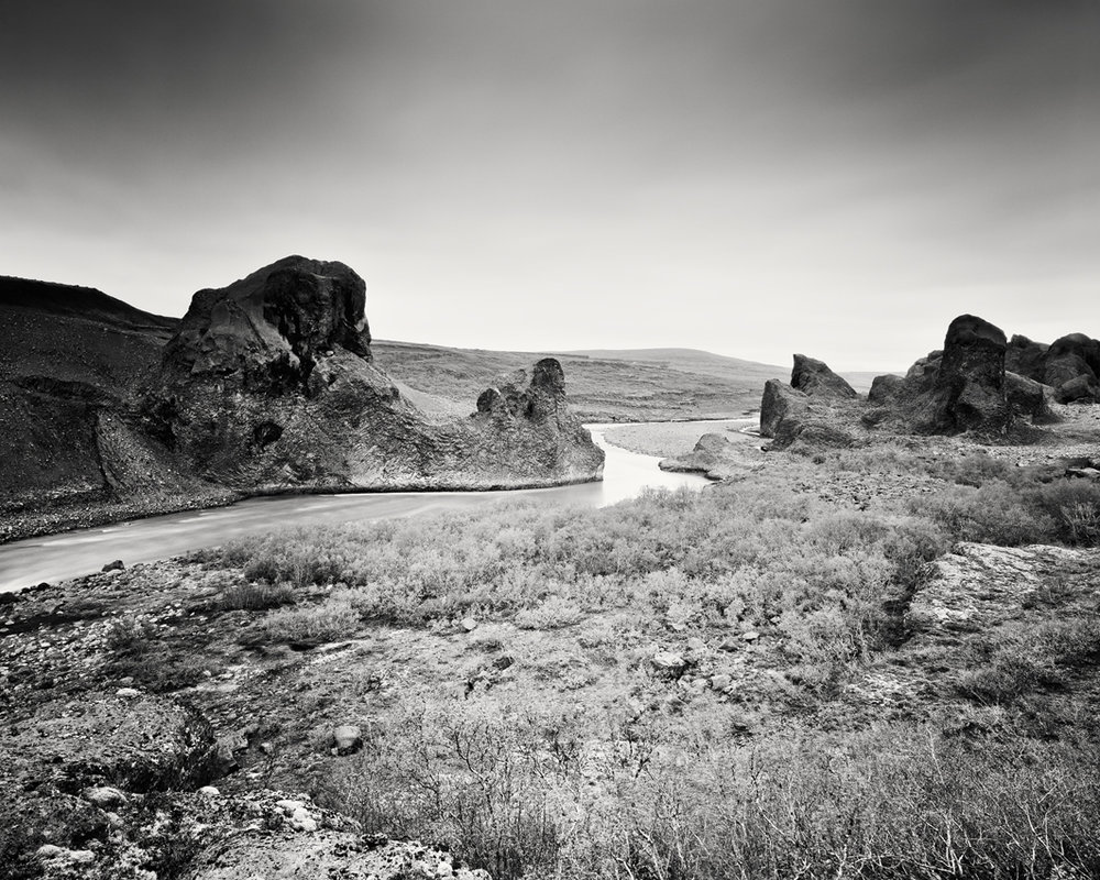 """Follow Rivers, Iceland 2011 - Limited Edition Gelatin Silver Print No.: 11134 40 x 50cm (15.8 x 19.7""""), Edition of 8 60 x 75cm (23.6 x 29.5""""), Edition of 7 80 x 100cm (31.5 x 39.4""""), Edition of 5 100 x 125cm (39.4 x 49.2""""), Edition of 5 120 x 150cm (47.2 x 59.1""""), Edition of 5"""