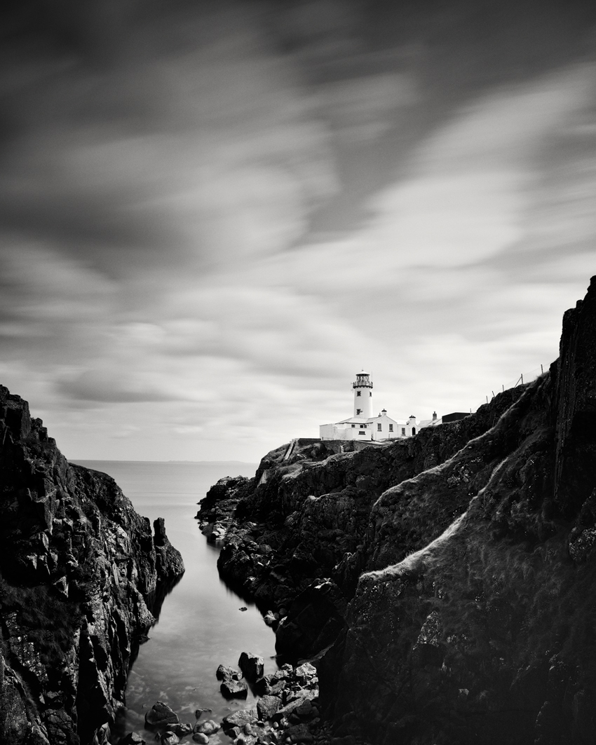 "Fanad Head Lighthouse Study #1, Ireland 2014 - Limited Edition Gelatin Silver Print No.: 11721  40 x 50cm (15.8 x 19.7"") ,  Edition of 8 60 x 75cm (23.6 x 29.5"") ,  Edition of 7 80 x 100cm (31.5 x 39.4"") ,  Edition of 5 100 x 125cm (39.4 x 49.2"") ,  Edition of 5 120 x 150cm (47.2 x 59.1"") ,  Edition of 5"