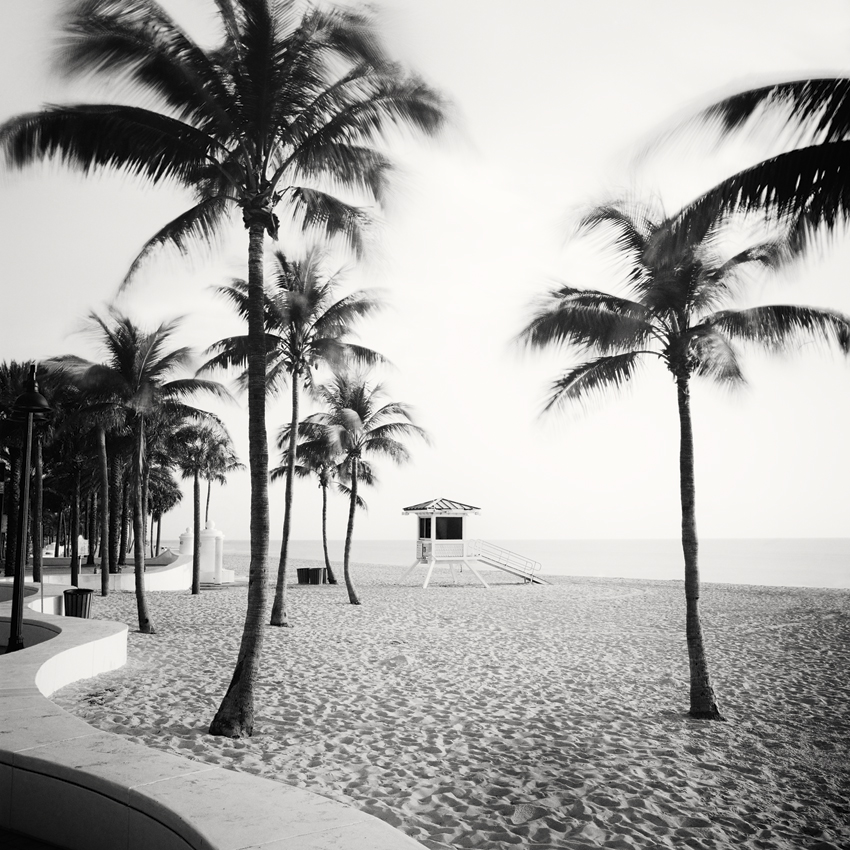 "Fort Lauderdale Beach #2, Florida, USA 2016 - Limited Edition Gelatin Silver Print No.: 11747 40 x 40cm (15.8 x 15.8""), Edition of 9 60 x 60cm (23.6 x 23.6""), Edition of 9 80 x 80cm (31.5 x 31.5""), Edition of 7 100 x 100cm (39.4 x 39.4""), Edition of 5"