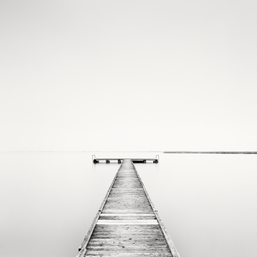 "Pier Study #1, Austria 2015 - Limited Edition Gelatin Silver Print No.: 11605  40 x 40cm (15.8 x 15.8"") ,  Edition of 20 60 x 60cm (23.6 x 23.6"") ,  Edition of 15 80 x 80cm (31.5 x 31.5"") ,  Edition of 10 100 x 100cm (39.4 x 39.4"") ,  Edition of 5"
