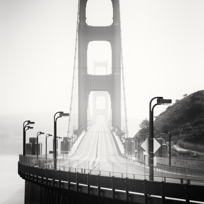 "Golden Gate Study #7, CA, USA 2015 - Limited Edition Gelatin Silver Print No.: 11638  40 x 40cm (15.8 x 15.8"") ,  Edition of 9 60 x 60cm (23.6 x 23.6"") ,  Edition of 9 80 x 80cm (31.5 x 31.5"") ,  Edition of 7 100 x 100cm (39.4 x 39.4"") ,  Edition of 5"