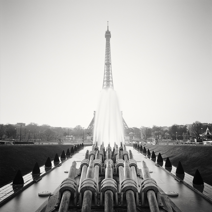 "Eifel Tower Study #3, Paris, France 2017 - Limited Edition Gelatin Silver Print No.: 11826  40 x 40cm (15.8 x 15.8"") ,  Edition of 9 60 x 60cm (23.6 x 23.6"") ,  Edition of 9 80 x 80cm (31.5 x 31.5"") ,  Edition of 7 100 x 100cm (39.4 x 39.4"") ,  Edition of 5"