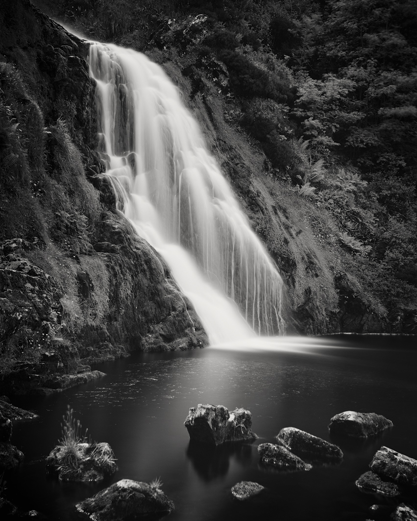 "Waterfall Study #3, Ireland 2014 - Limited Edition Gelatin Silver Print No.: 11577 40 x 50cm (15.8 x 19.7""), Edition of 8 60 x 75cm (23.6 x 29.5""), Edition of 7 80 x 100cm (31.5 x 39.4""), Edition of 5 100 x 125cm (39.4 x 49.2""), Edition of 5 120 x 150cm (47.2 x 59.1""), Edition of 5"