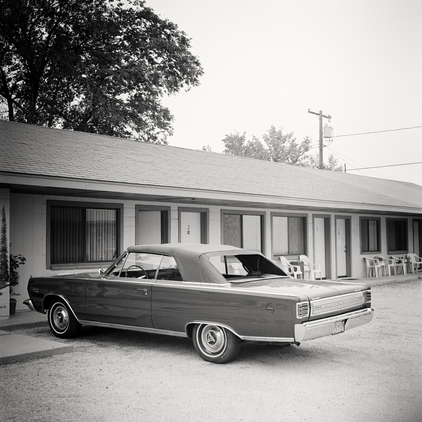 "1967 Plymouth, CA, USA 2015 - Limited Edition Gelatin Silver Print No.: 11620  40 x 40cm (15.8 x 15.8"") ,  Edition of 9 60 x 60cm (23.6 x 23.6"") ,  Edition of 9 80 x 80cm (31.5 x 31.5"") ,  Edition of 7 100 x 100cm (39.4 x 39.4"") ,  Edition of 5"