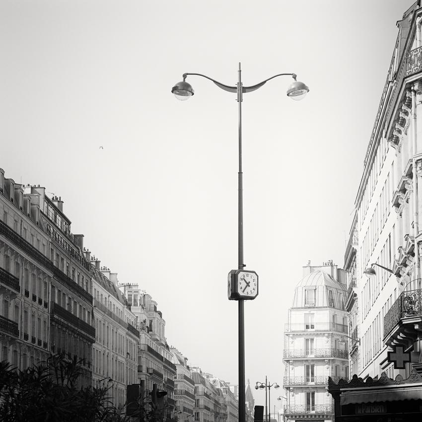 """le Parisien, Paris, France 2017 - Limited Edition Gelatin Silver Print No.: 11944  40 x 40cm (15.8 x 15.8"""") ,  Edition of 9 60 x 60cm (23.6 x 23.6"""") ,  Edition of 9 80 x 80cm (31.5 x 31.5"""") ,  Edition of 7 100 x 100cm (39.4 x 39.4"""") ,  Edition of 5"""